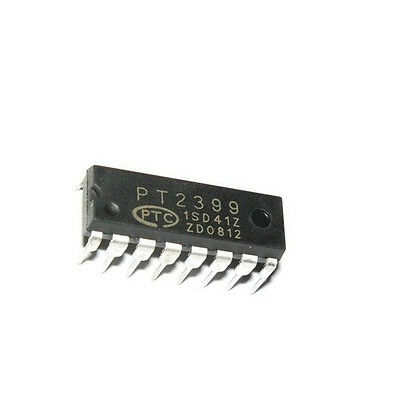 10Pcs DIP PT2399 audio digital reverb circuit DIP-16 NEW AU