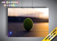 Poster Tennis Macro Sport Classic