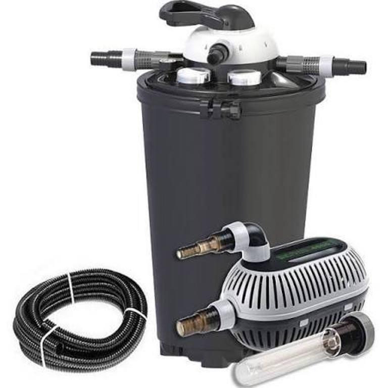 Teichfilter velda clear control 75 set  Filter + UV-Lampe + Pumpe