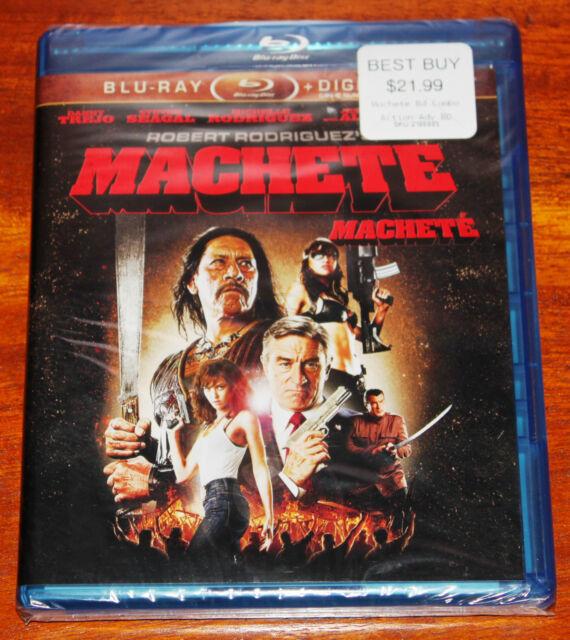 Machete (Blu-ray Disc, 2011, Canadian; French)