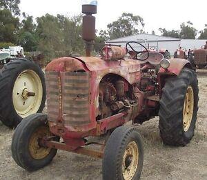 Massey-Harris-44-44K-Tractors-Service-Repair-Operator-Manual-MF-Ferguson-44GS-CD