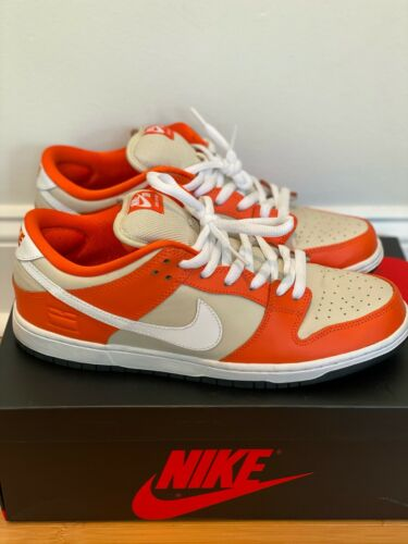 Nike Dunk SB Low Pro Circuit Orange Box Size 11.5