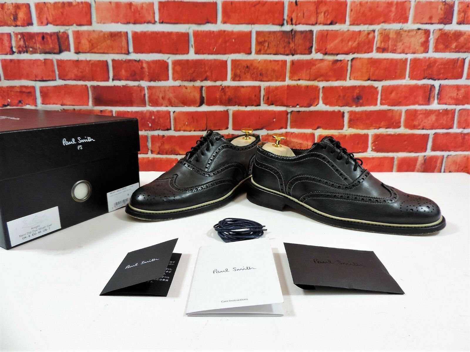 Paul Smith Brogues UK 6 US 7 EU 40  Worn Once Contrasting storm welt