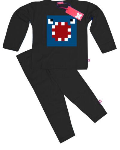 Black Kids Childrens Boys Iballisticsquid iballistic Squid Ballistic Pyjamas