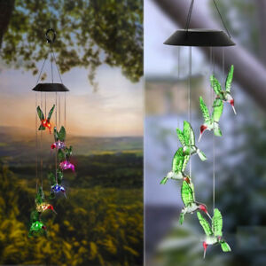 Solar-Color-Changing-LED-Hummingbird-Wind-Chimes-Home-Garden-Decor-Light-Lamp-TK