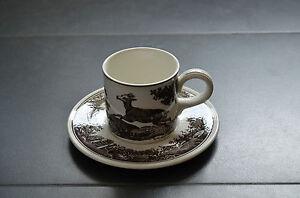 Villeroy-amp-Boch-V-amp-B-Anjou-Kaffeetasse-Tasse-m-U-Kaffeegedeck-Gedeck-2tlg