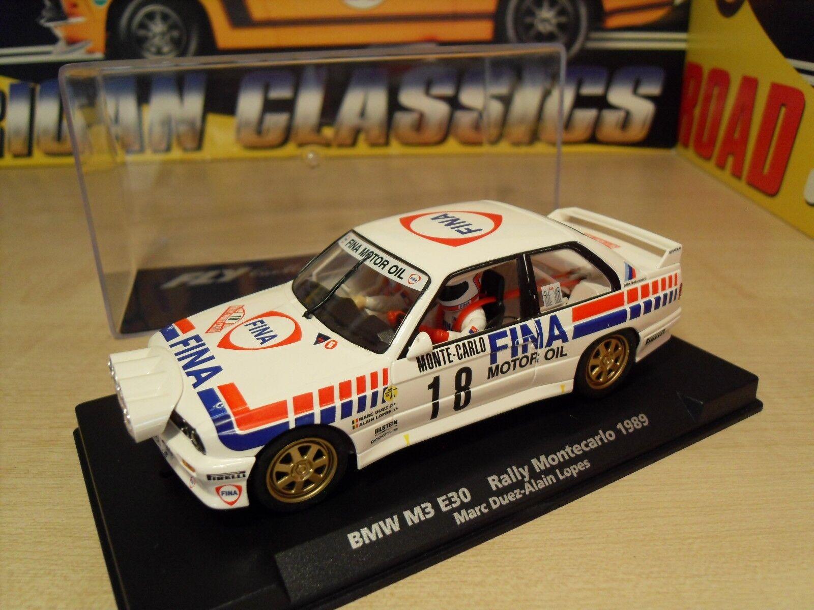A-1702 BMW M3 E30 'Rally Montecarlo 1989' - Brand New in Box