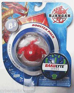 Bakugan-Battle-Brawlers-CLEAR-Red-Pyrus-ALTO-BRONTES-Translucent-New-Sealed