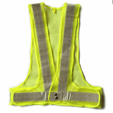 High Visibility Mesh Safety Vest With Reflective Strip Ansi Waistcoat