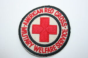 AMERICAN RED CROSS PATCH