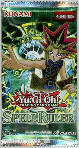 YuGiOh Spell Ruler New and Sealed YuGiOh Booster Pack
