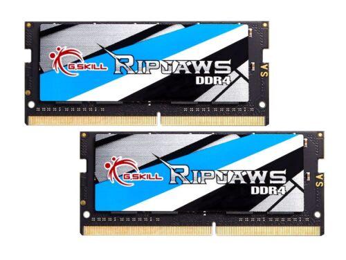 32GB G.Skill 3200MHz DDR4 Laptop Memory Kit CL18 1.2V PC4-25600 Ripjaws 2x16GB