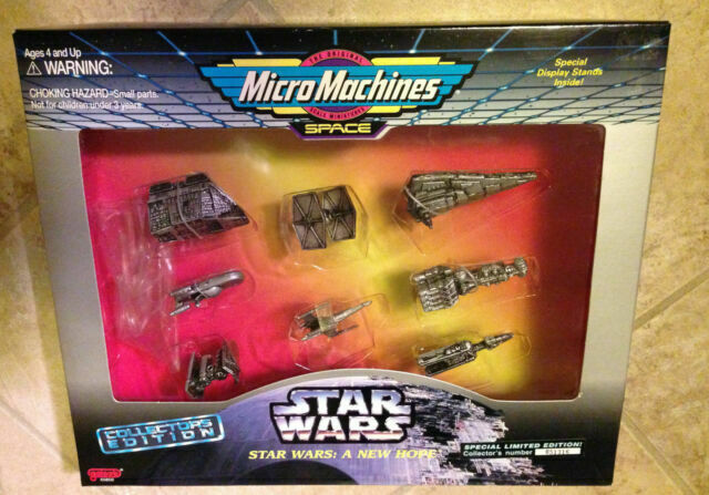 Star Wars A New Hope Micro Machines Collectors Edition Set Galoob 65850