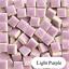 thumbnail 20 - Tiny Ceramic Mosaic Tiles For Crafts Square Porcelain Art Pieces Hobbies 50pcs