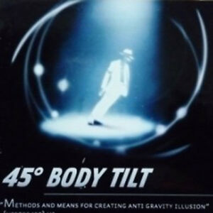 The Lean - Gimmick (45th Body Tilt) Jongler avec des jeux de magie