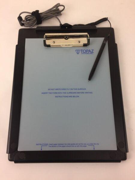 100% Waar Topaz Systems T-c912-hsb-r, Clipgem Hsb Pad, Stylus Not Working, Consumenten Eerst
