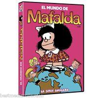 2 Disc Set - El Mundo De Mafalda Dvd La Serie Animada Box Set Original