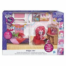 My Little Pony Equestria Girls Minis Pinkie Pie (Pink) Slumber Party Bedroom Set