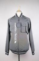 New. Alexander Mcqueen Gray Polyester Blend Rain Coat Jacket Size 54/44 R $1850 on sale