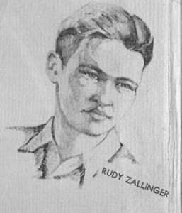 HANK KETCHAM RUDY ZALLINGER High School Yearbook SENIOR Year DENNIS the MENACE