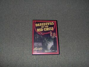 DAREDEVILS OF THE RED CIRCLE SERIAL CLIFFHANGER 12 CHAP