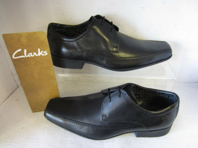 09ed374ab Clarks Mens Smart AZE Day Leather Shoes in Black 7.5 G 203543297075 ...