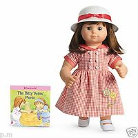 American Girl Bitty Baby Twins Birthday Dress Outfit In Box Twins