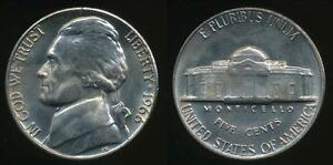 United-States-1966-P-5-Cents-Jefferson-Nickel-Uncirculated