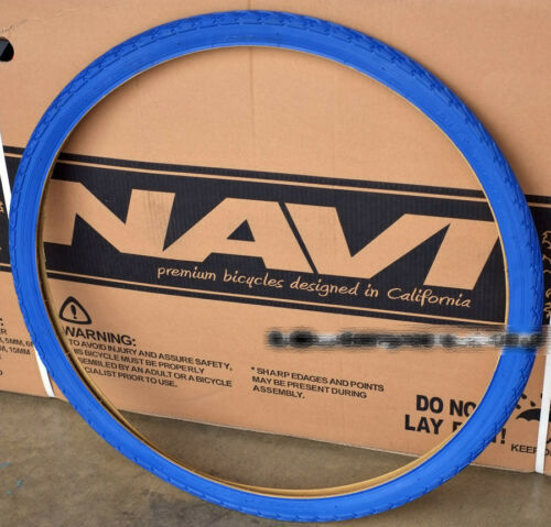 Duro 700 x 35C Tire 1 pair Blue x 2 Fixie Fixed Gear Road Bike Bicycle