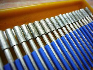 30-tlg-THK-Diamant-Fraeser-Set-4mm-Zylinder-Schleifstift-Schmuck-Drehbohrmeissel