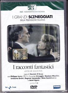 2-Dvd-Box-Sceneggiati-Rai-I-RACCONTI-FANTASTICI-con-Philippe-Leroy-completa-1979