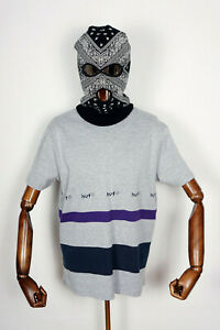 Huf Worldwide Skateboard T-Shirt Tee Ellis YDS Knit Top Grey Heather in M