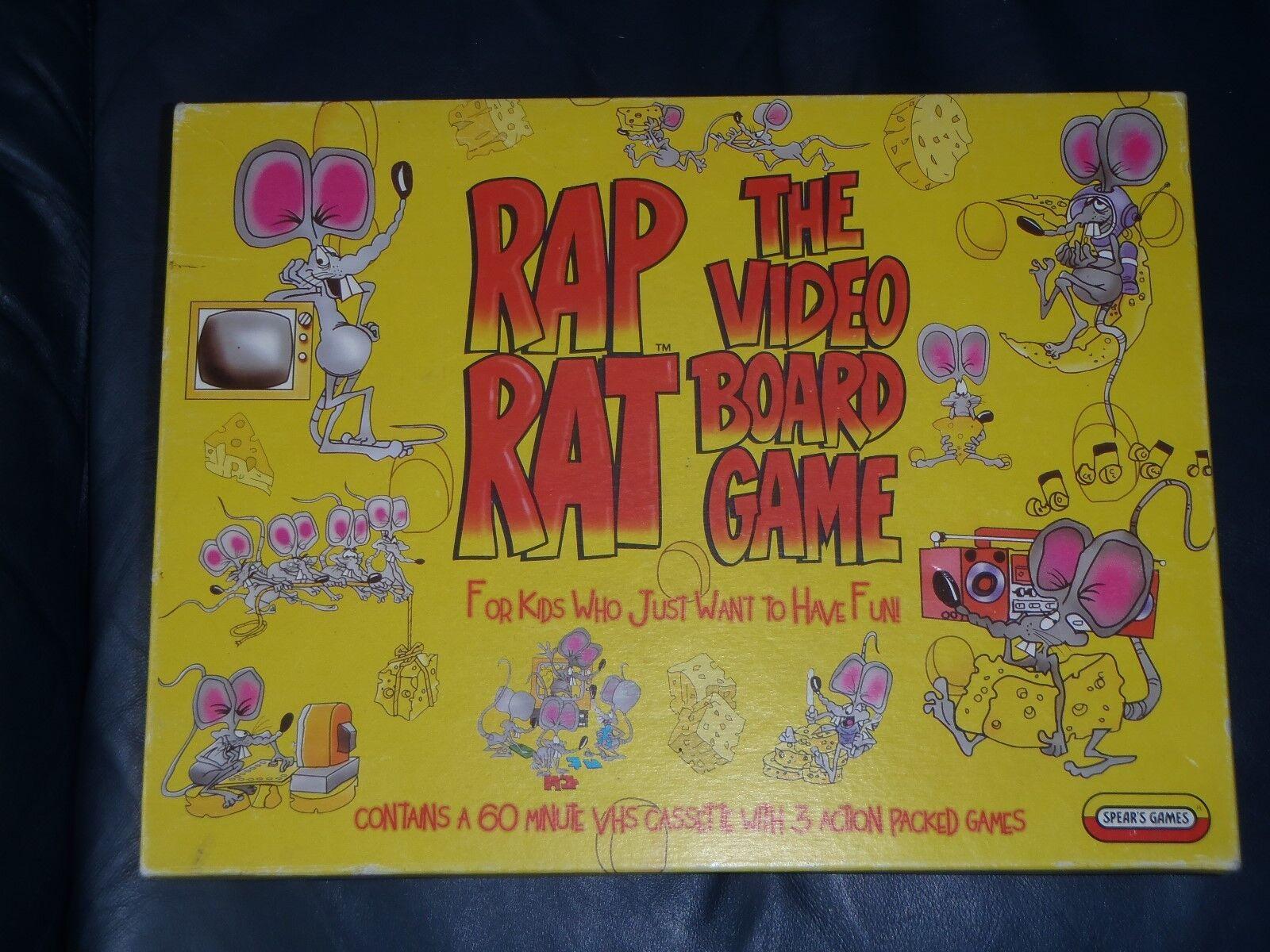 Spears    RAP RAT  Board Game 19b43f