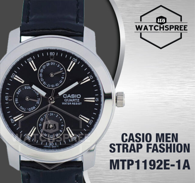 Casio Classic Series Men's Analog Watch MTP1192E-1A