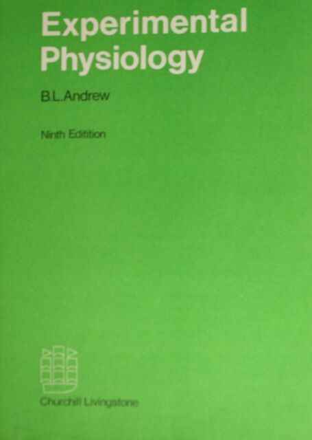 Experimental Physiology, Andrew, B.L., Very Good Book