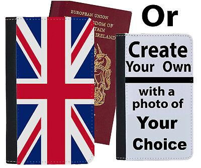 Bandiera Union Jack Custodia Per Passaporto Rosso Bianco Blu Inglese Britannico C345 Case Cover-mostra Il Titolo Originale Valore Eccezionale