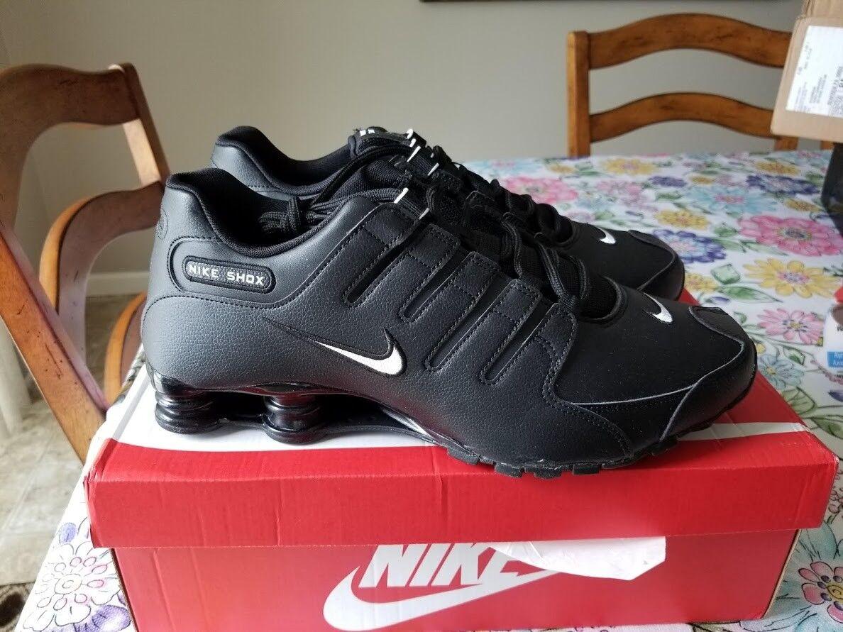 Nike uomini shox nz scarpe - nero