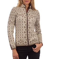 Dale-of-Norway-Kara-Women-039-s-100-Wool-Sweater-Jacket