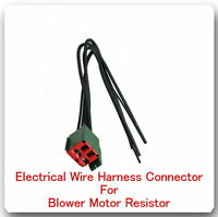 5 Wire Harness Pigtail Connector For Blower Motor Resistor Fits:ford Lincoln