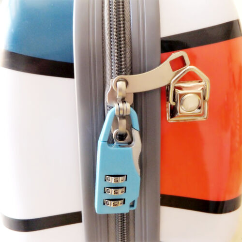 5.5*2.2cm 3 Digits Outdoor Travel Safety Luggage Baggage Suitcase Lock Padlock
