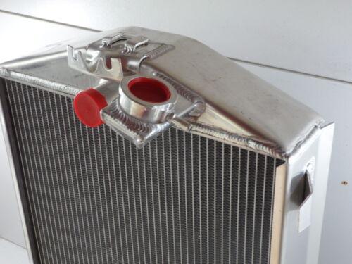 HOT ROD FORD RADIATOR ALUMINIUM 680 X 440 WIDE,CORE 70 MM THICK SUPER COOL CORE
