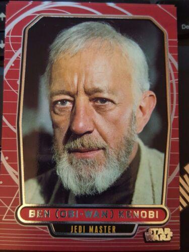 Star Wars 2012 Galactic Files 1 #98 Ben Obi-Wan Kenobi Jedi Master NrMint-MINT