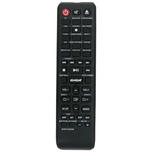 AH59-02694B AH5902694B Ersatz Fernbedienung Passt für Samsung MX-J630 MX-JS5000