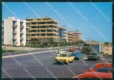 Teramo Martinsicuro Villa Rosa Auto Foto FG cartolina KF1965