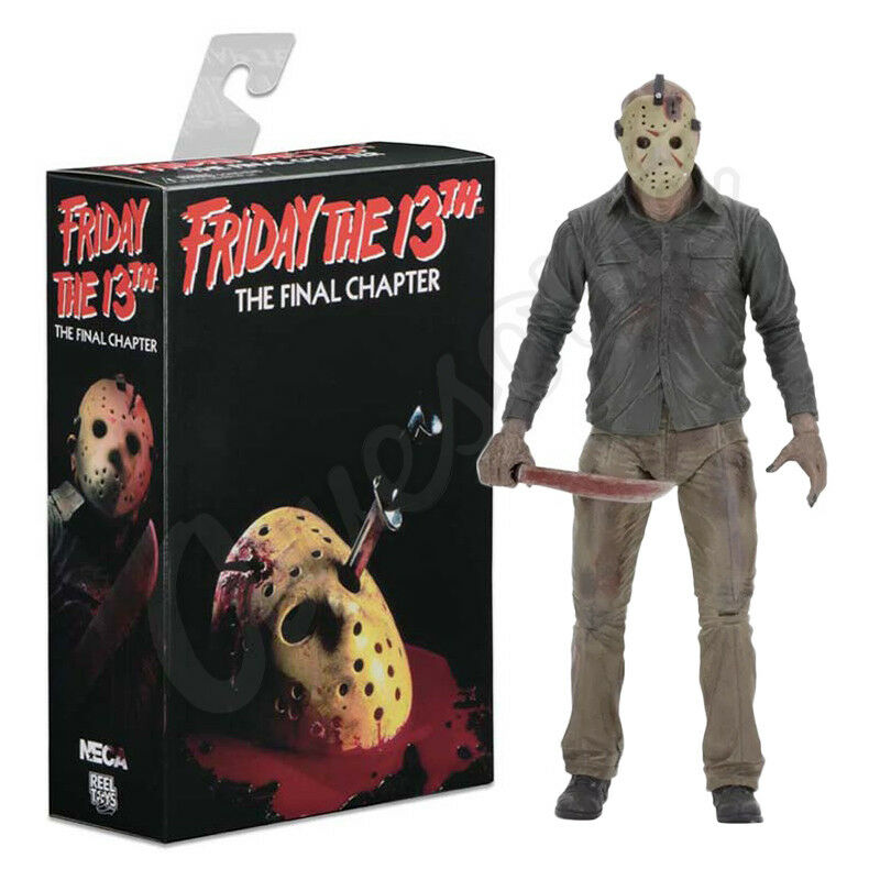 Neca Friday The 13th Final Chapter 7  Jason Voorhees Action Figure Boxed