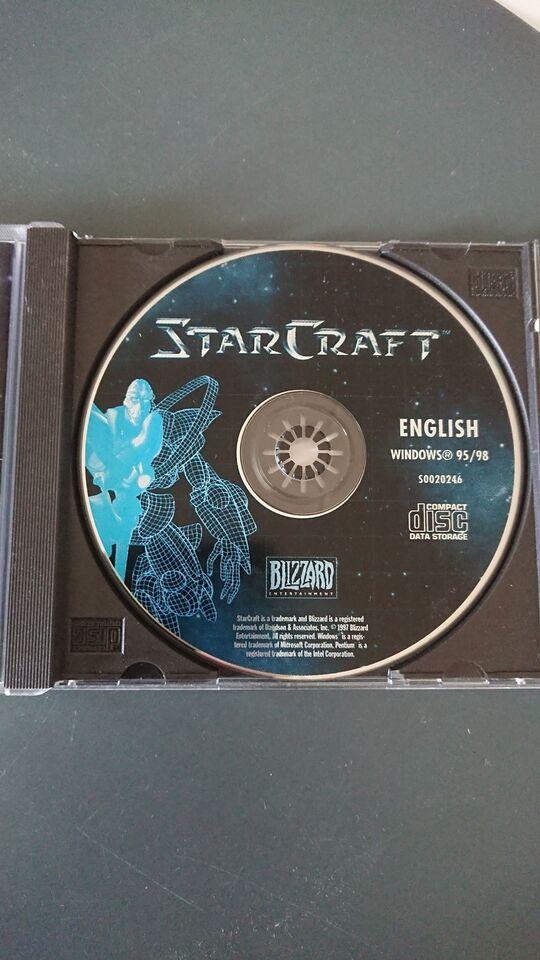 Starcraft, til pc, anden genre