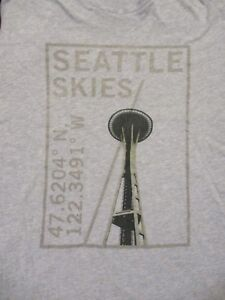 M-gray-SEATTLE-SKIES-SPACE-NEEDLE-t-shirt-by-OLD-NAVY