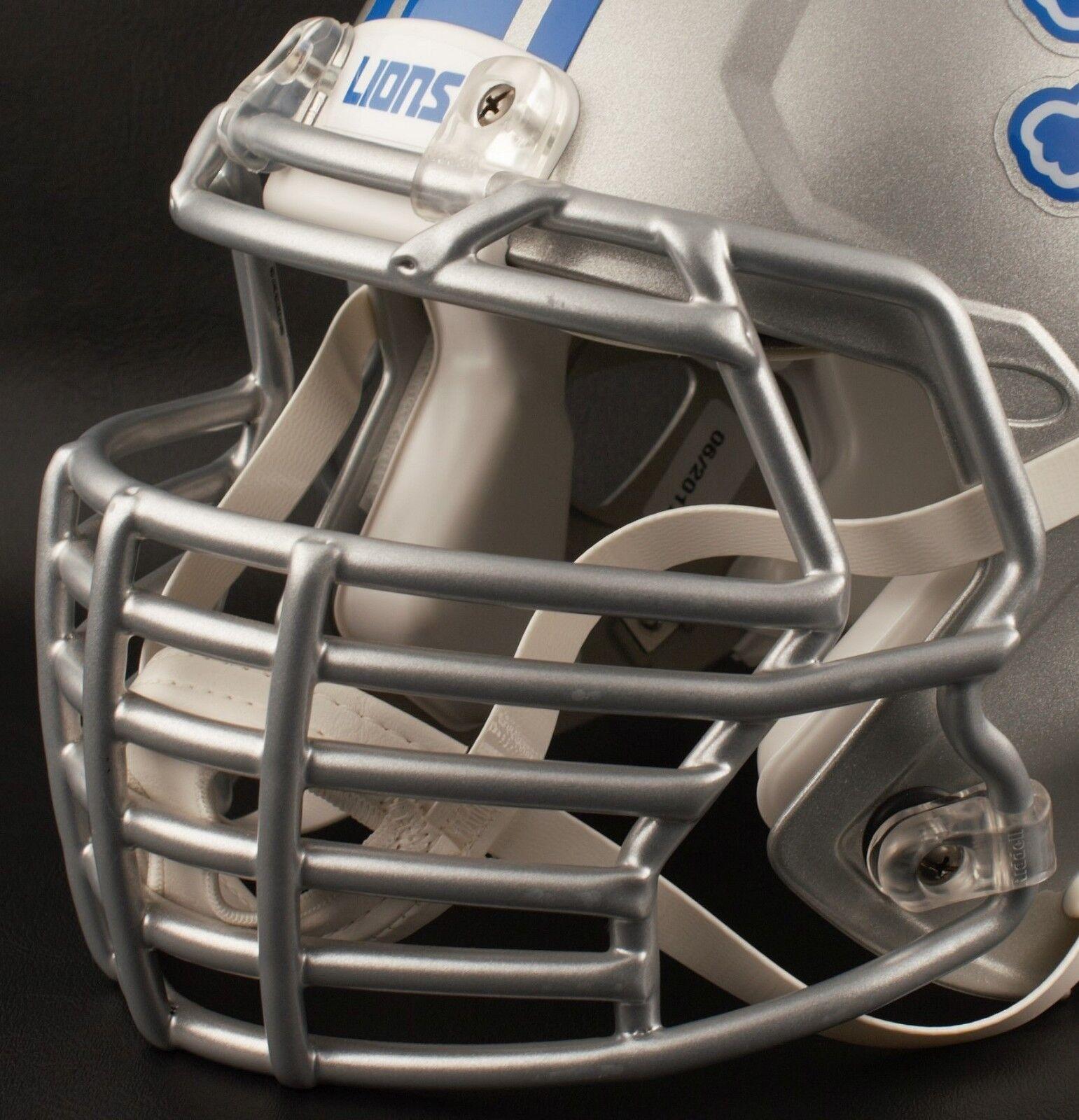 DETROIT LIONS NFL Riddell Speed BIG GRILL S2BDC-HT-LW Football Helmet Facemask