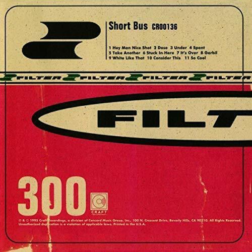 SHORT BUS - FILTER [CD]