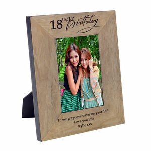 Image Is Loading 18th Birthday Gift For Him Her With Engraved